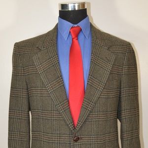 Savile Row 39R Sport Coat Blazer Suit Jacket